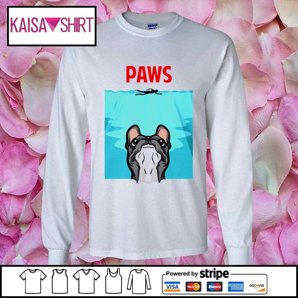 PAWS French Bulldog s longsleeve-tee