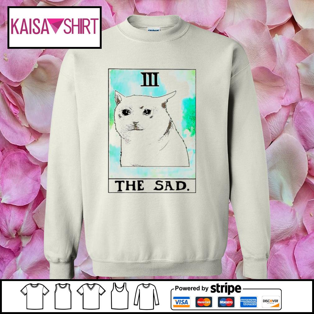 Cat 3 the sad s sweater