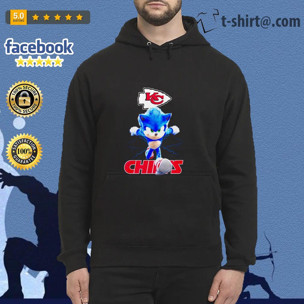 Sonic The Hedgehog Kansas City Chiefs Shirt Hoodie Sweater Tank Top