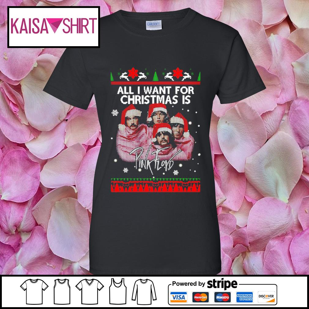 All I want for Christmas is Pink Floyd s ladies-tee